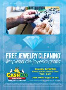<!--:en-->Free Jewelry Cleaning <!--:--> @ CashCo Pawn | San Diego | California | United States