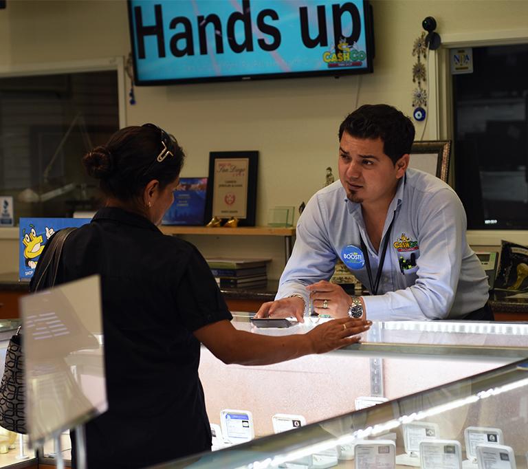 Money In San Diego Pawn Shop
